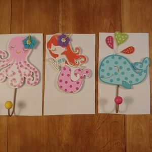 NWT Set Of 3 At Home Wall Decorations
